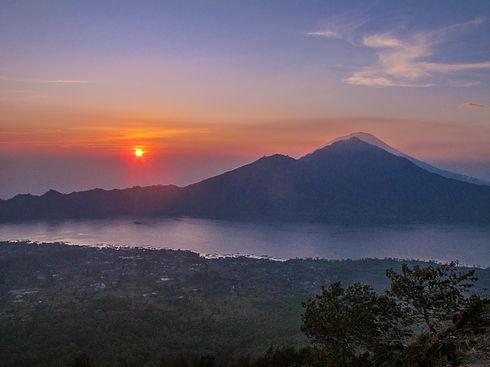 Sunrise over Mt. Agung