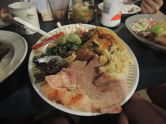 International Thanksgiving dinner!