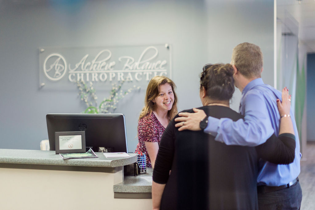 Front Desk  Achieve Balance Chiropractic Office