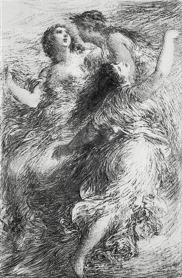 Henri Fantin-Latour, Les Filles du Rhin