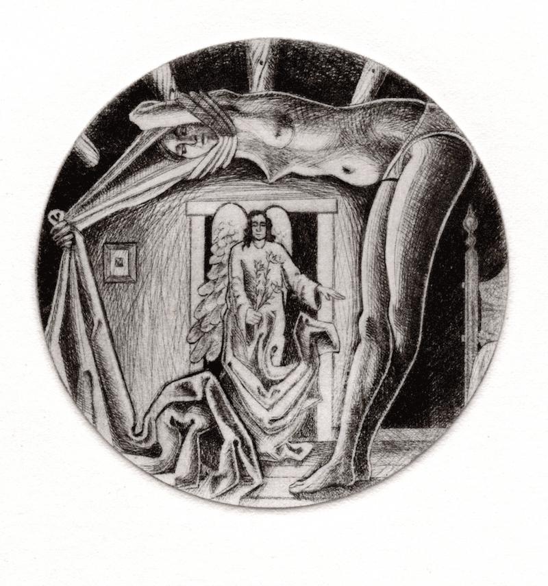 Copy of Annunciation Tondo