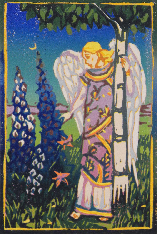 Delphinium Angel