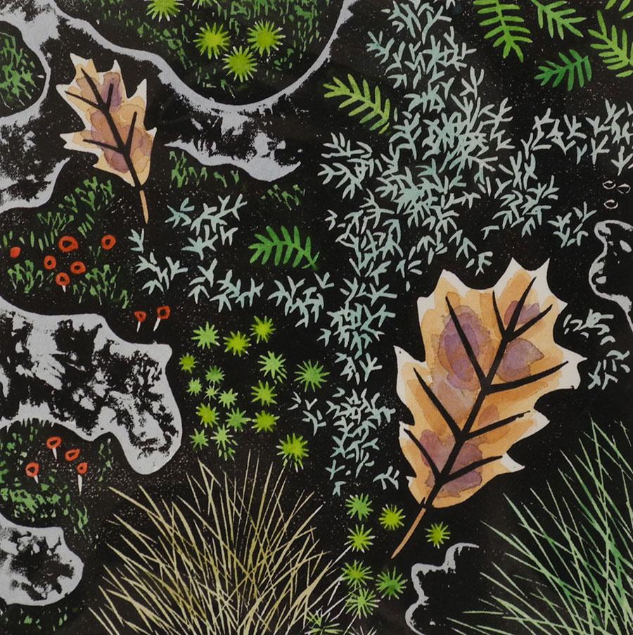 Two Oak Leaves