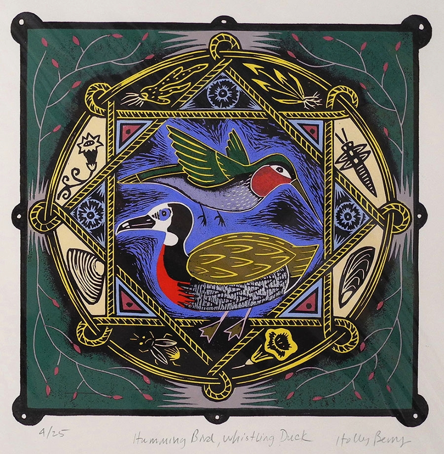 Hummingbird, Whistling Duck