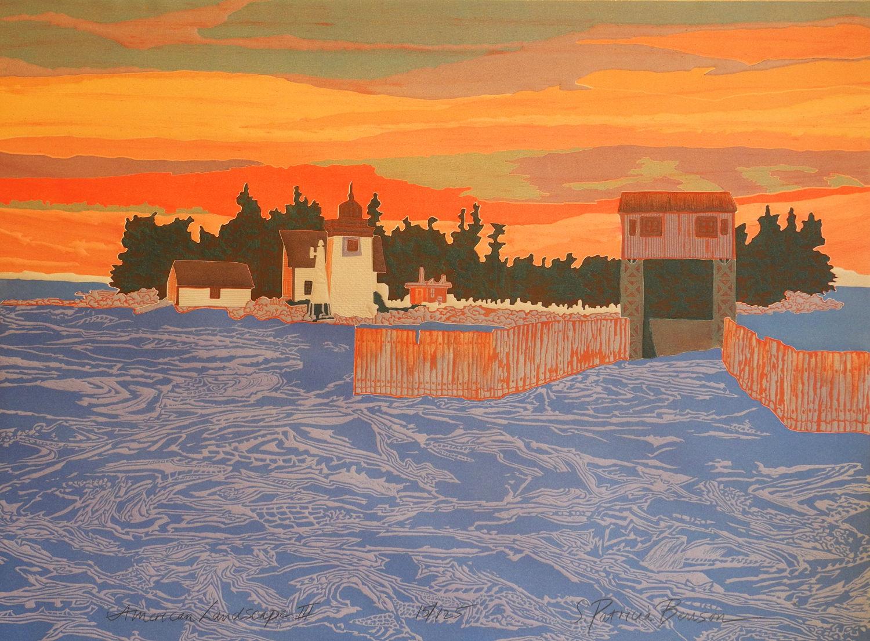 S. Patricia Benson, American Landscape III