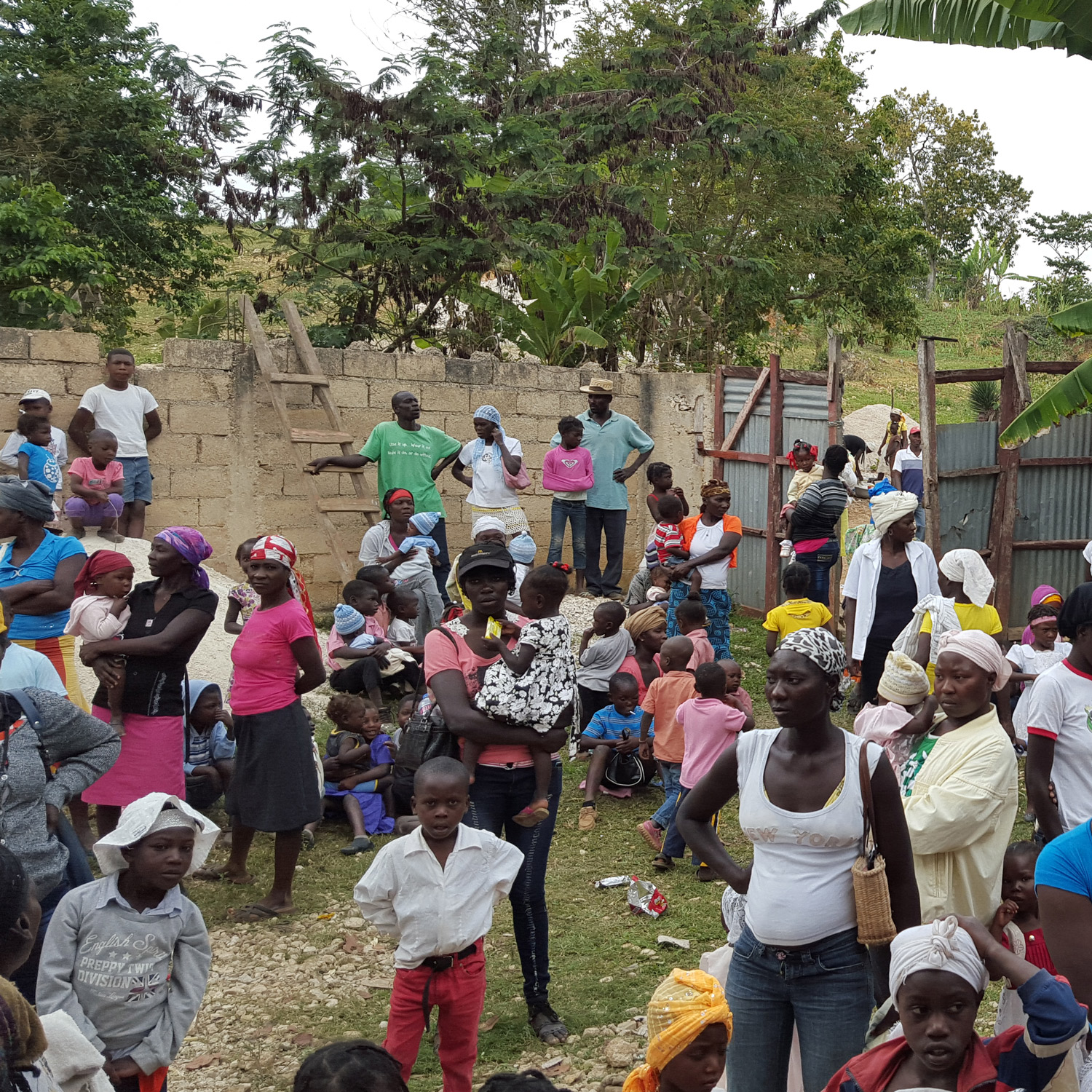 80% of the Haitian people live in poverty; many without access to clean water, health care, proper lodging, or an adequate food supply. -