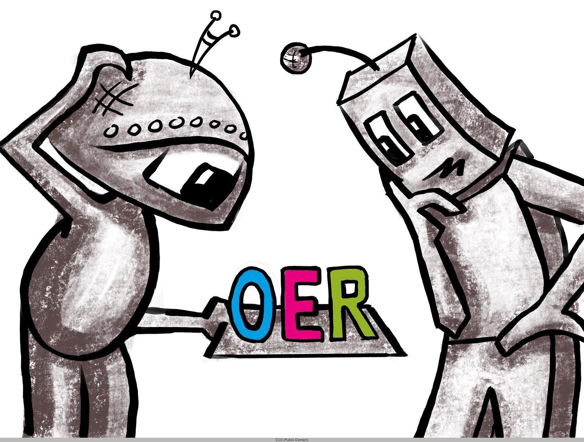 Robot OER  by Annemazo  CC-0