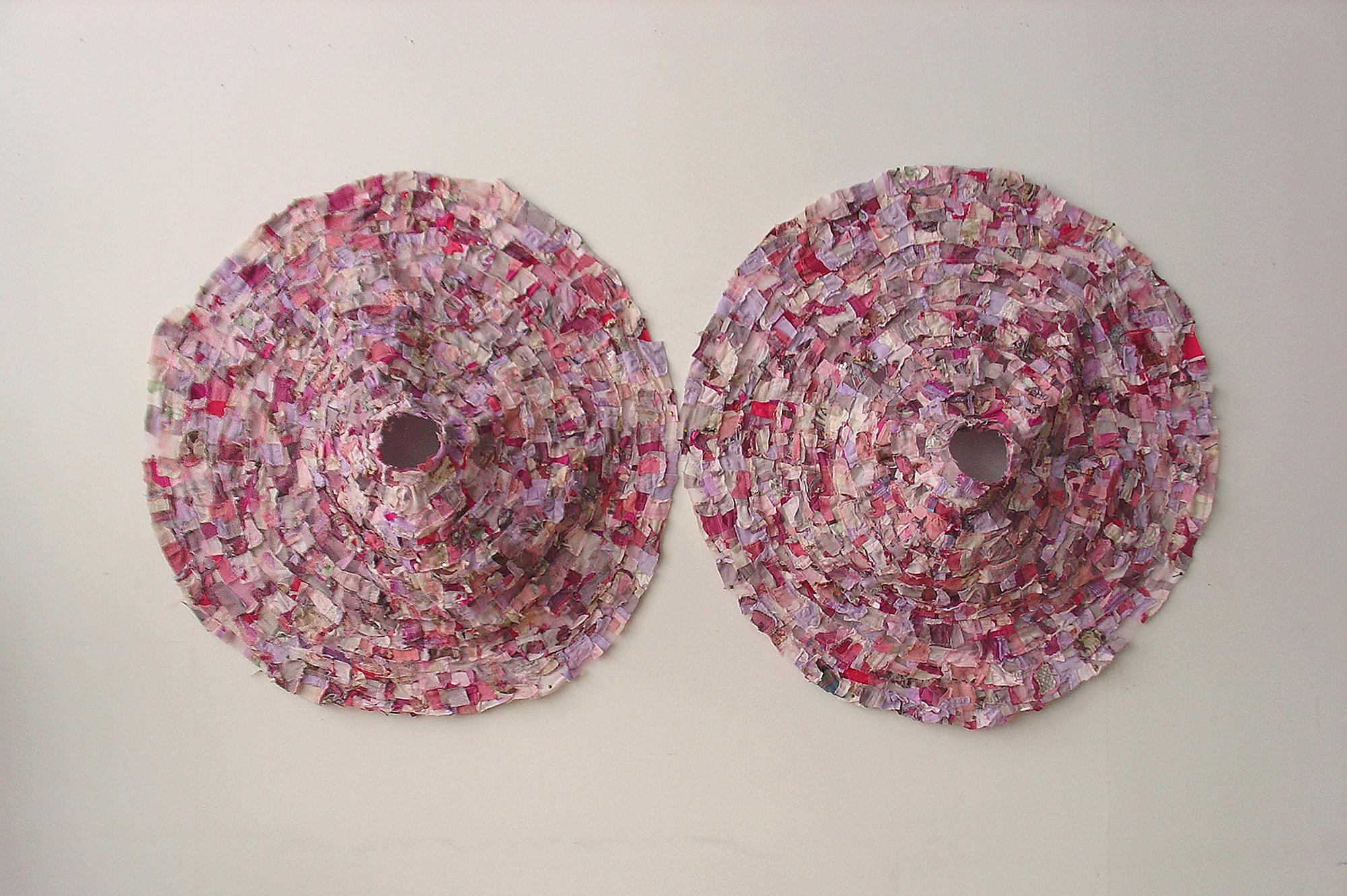 Platonic Target ,81 x 162 cm