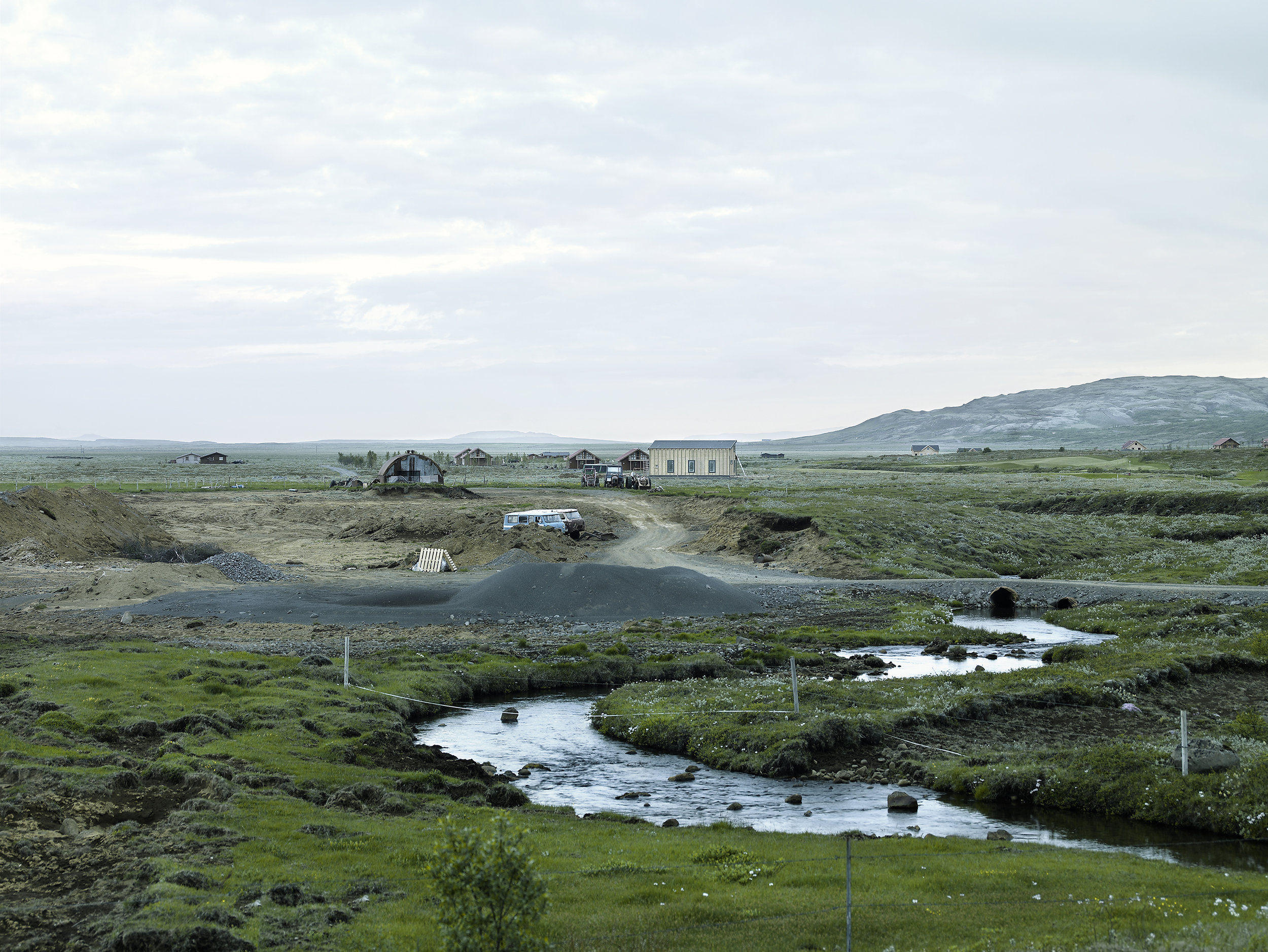 Farm, Islande, 2007.