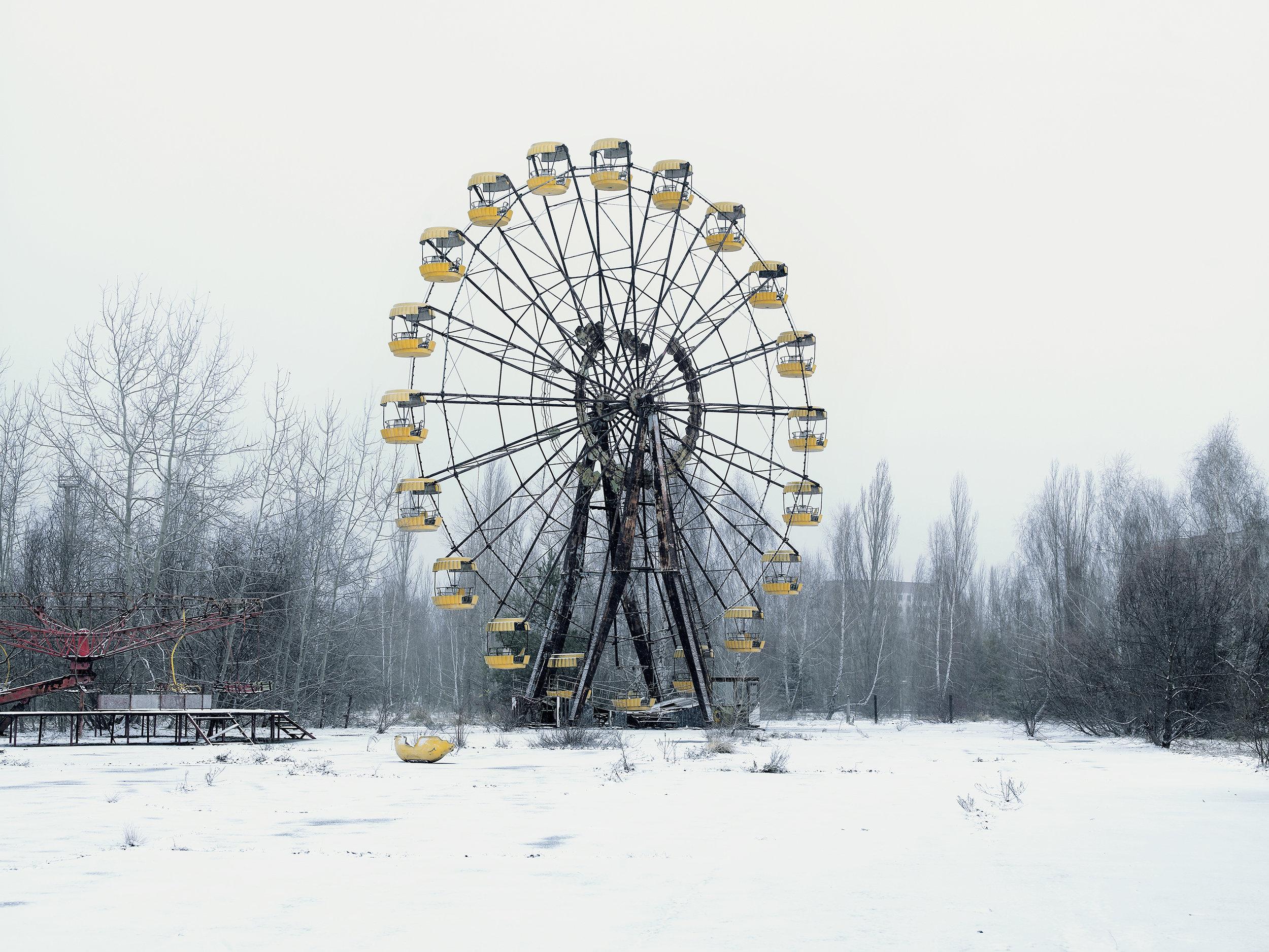 Tchernobyl 1. The great wheel, Prypiat, Ukraine, 2007.