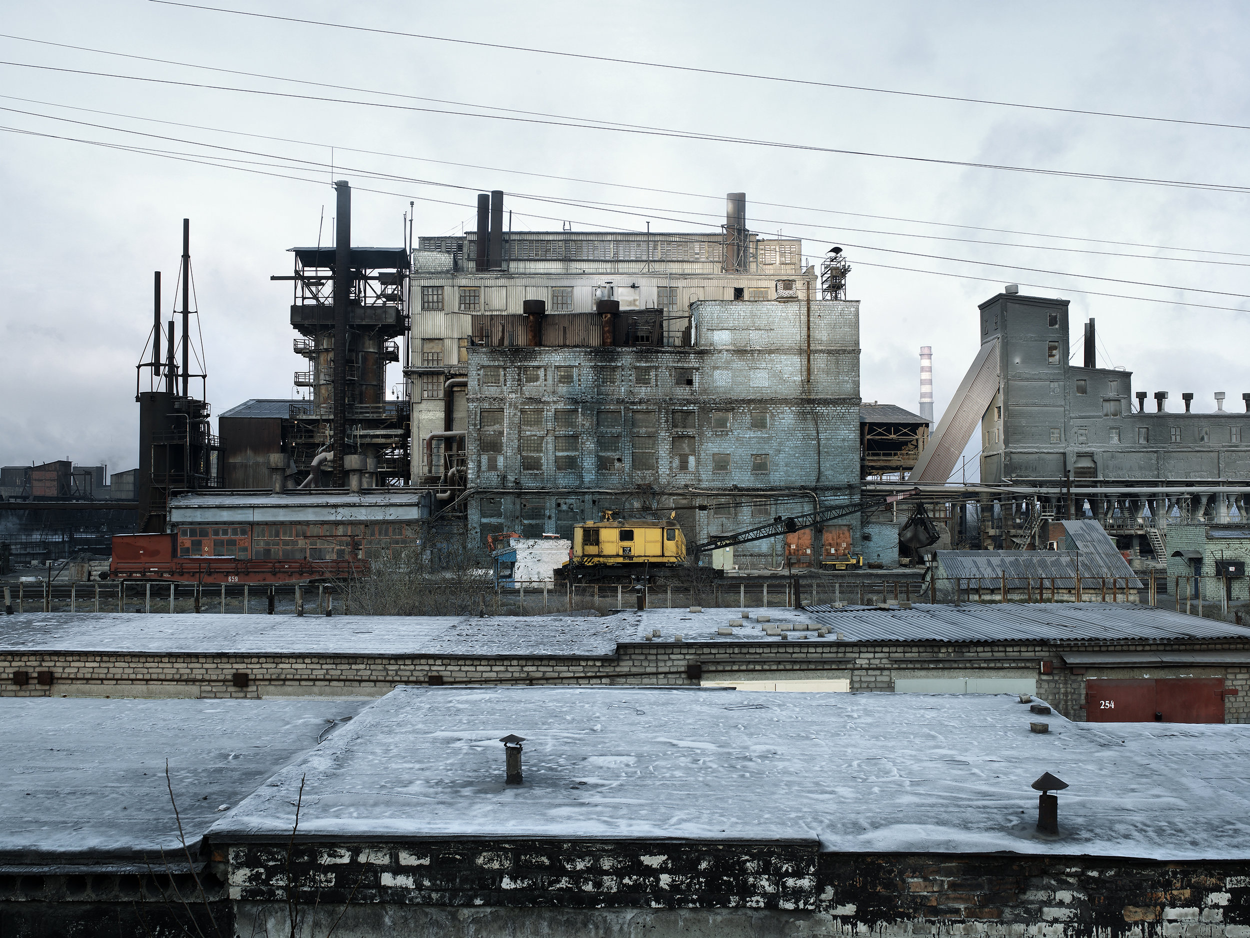 Unknown production factory, Ukraine, 2007.