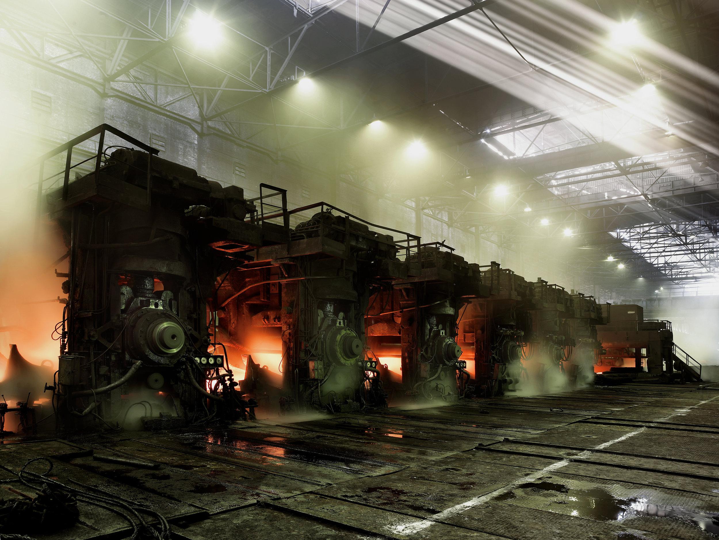 Steel mill 8, Ukraine, 2007.