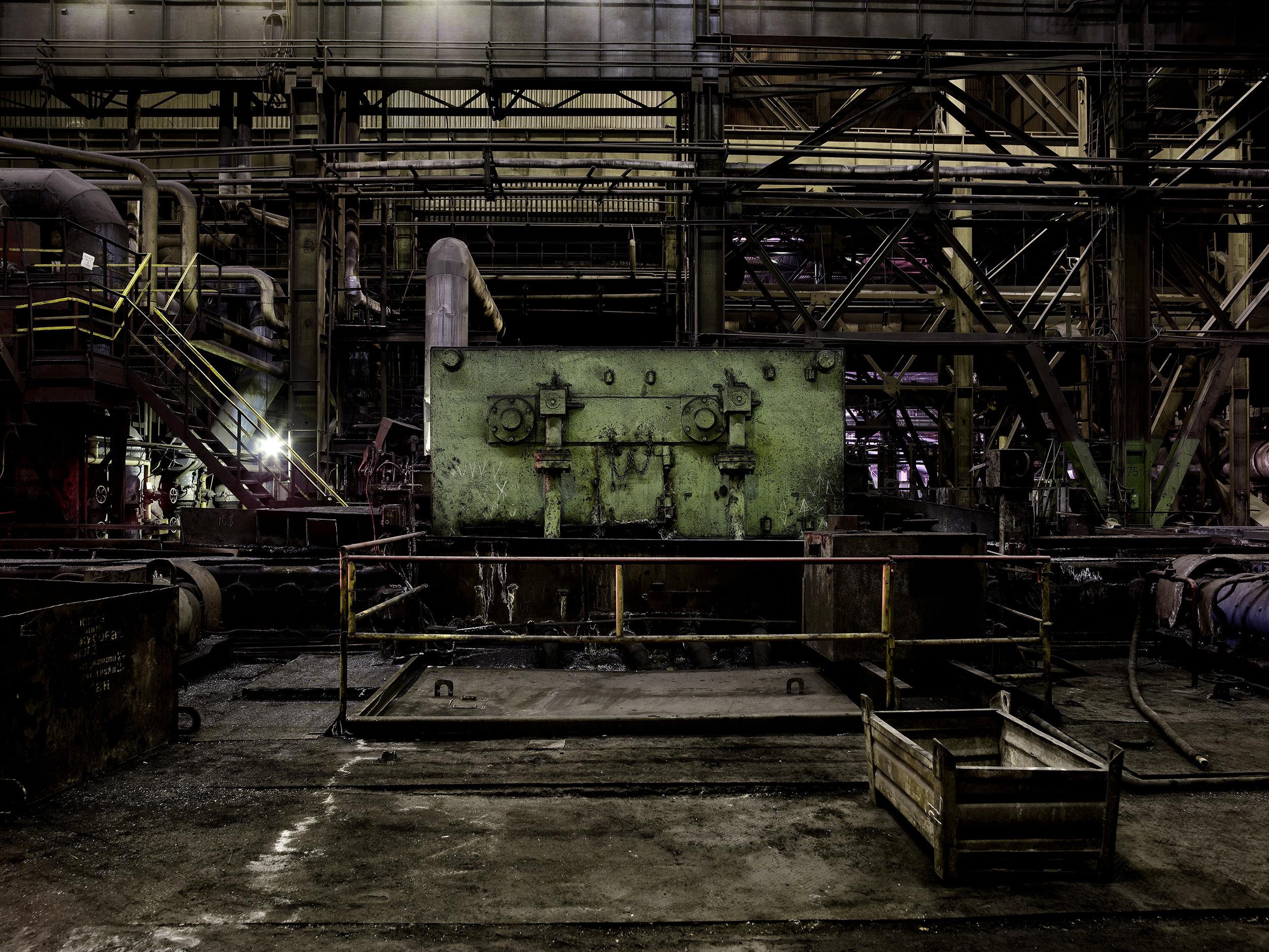 Steel mill 5, Ukraine, 2007.