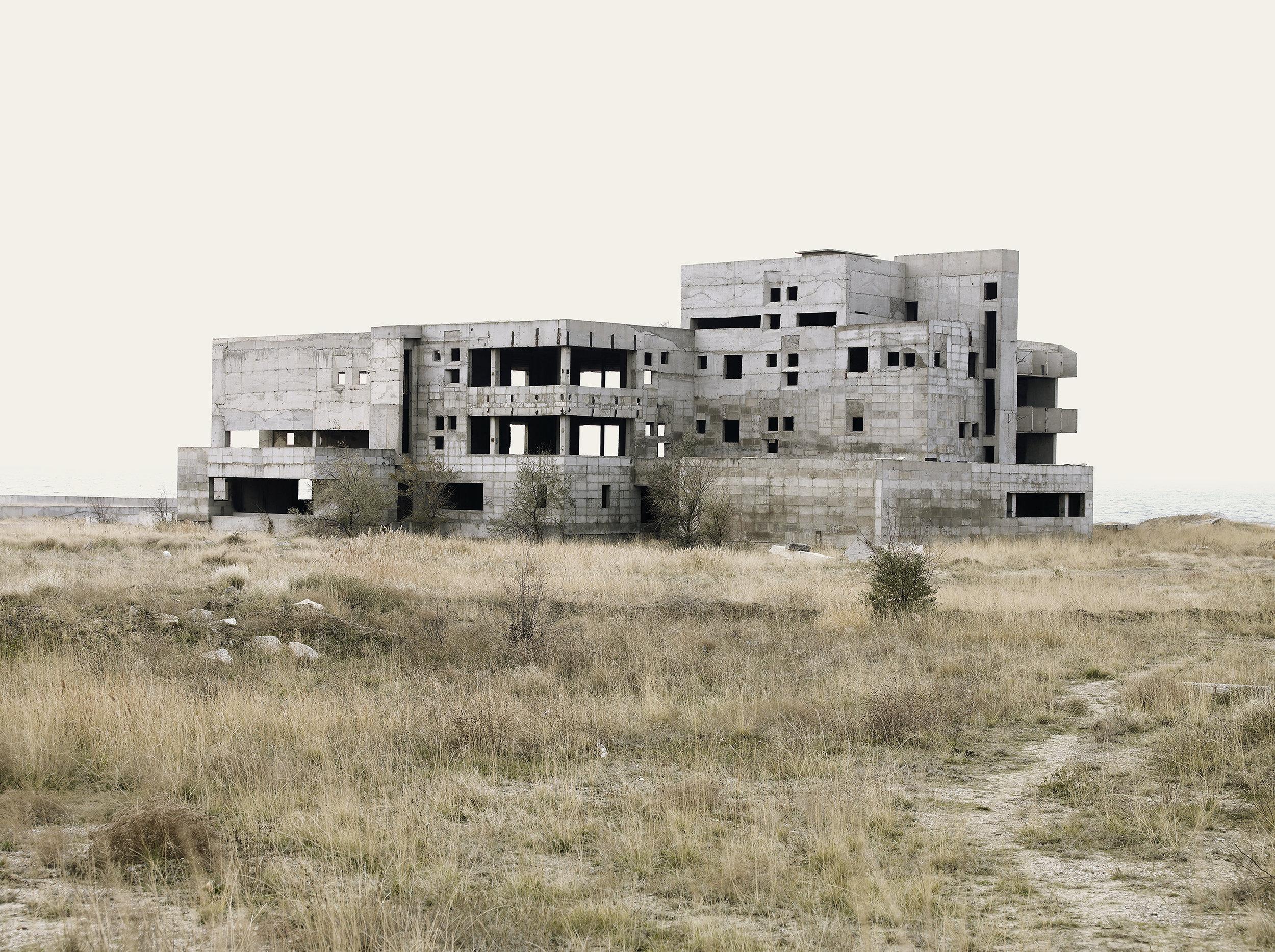 Abandoned construction, Ukraine, 2007.
