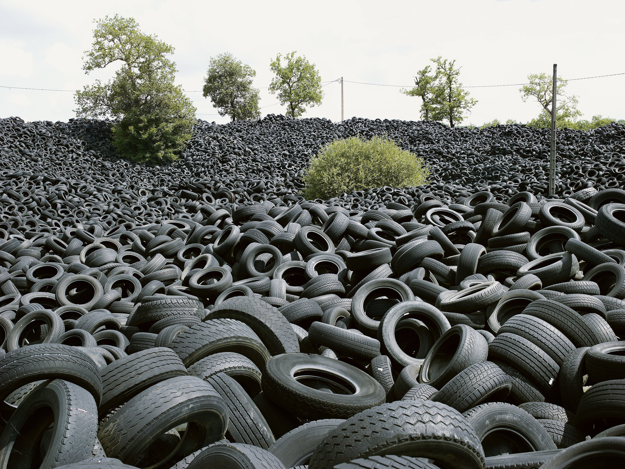 Tire dump 2, France, 2008.