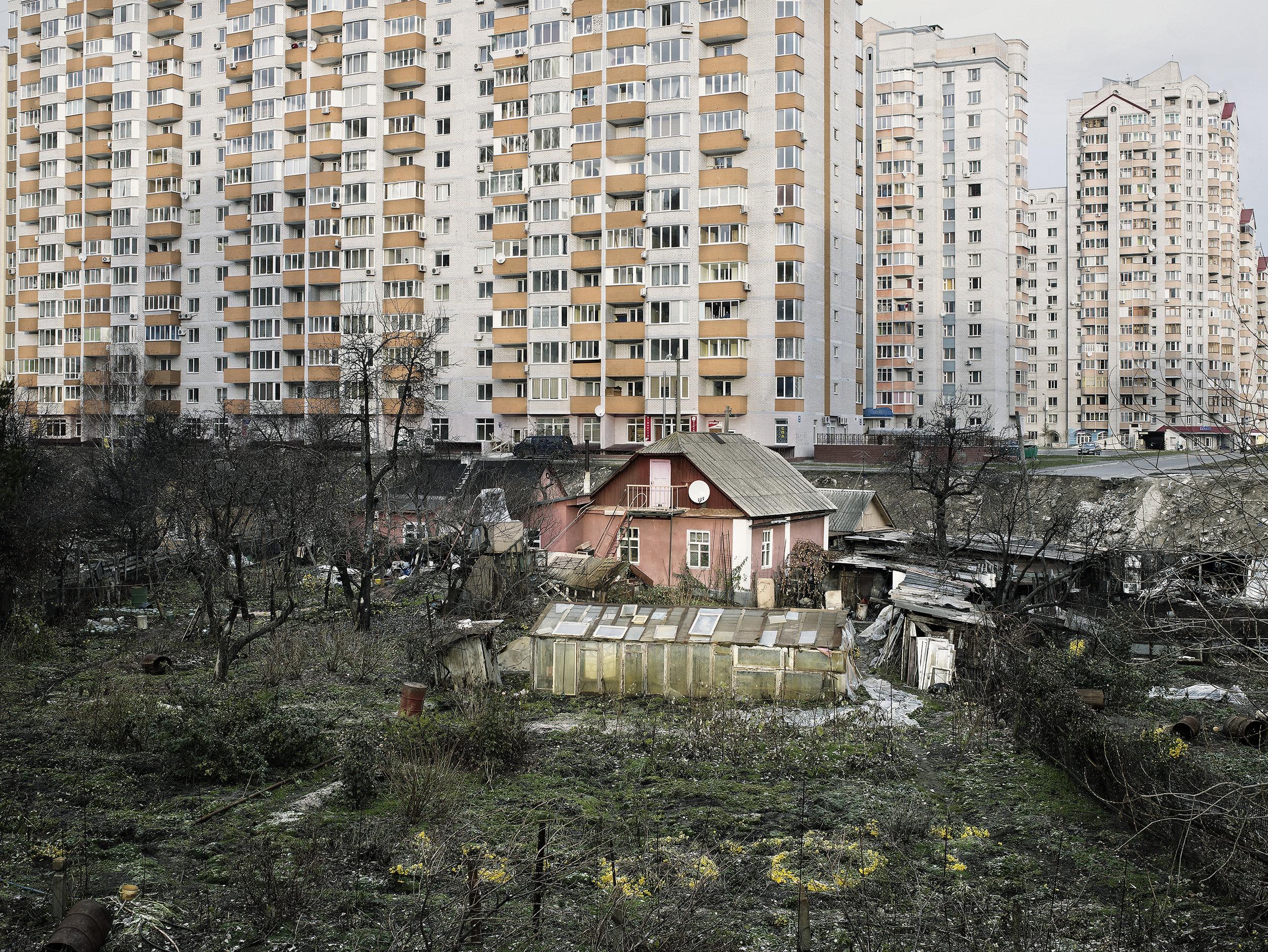 Neighborhood under renovation 1, Kiev, Ukraine, 2007.
