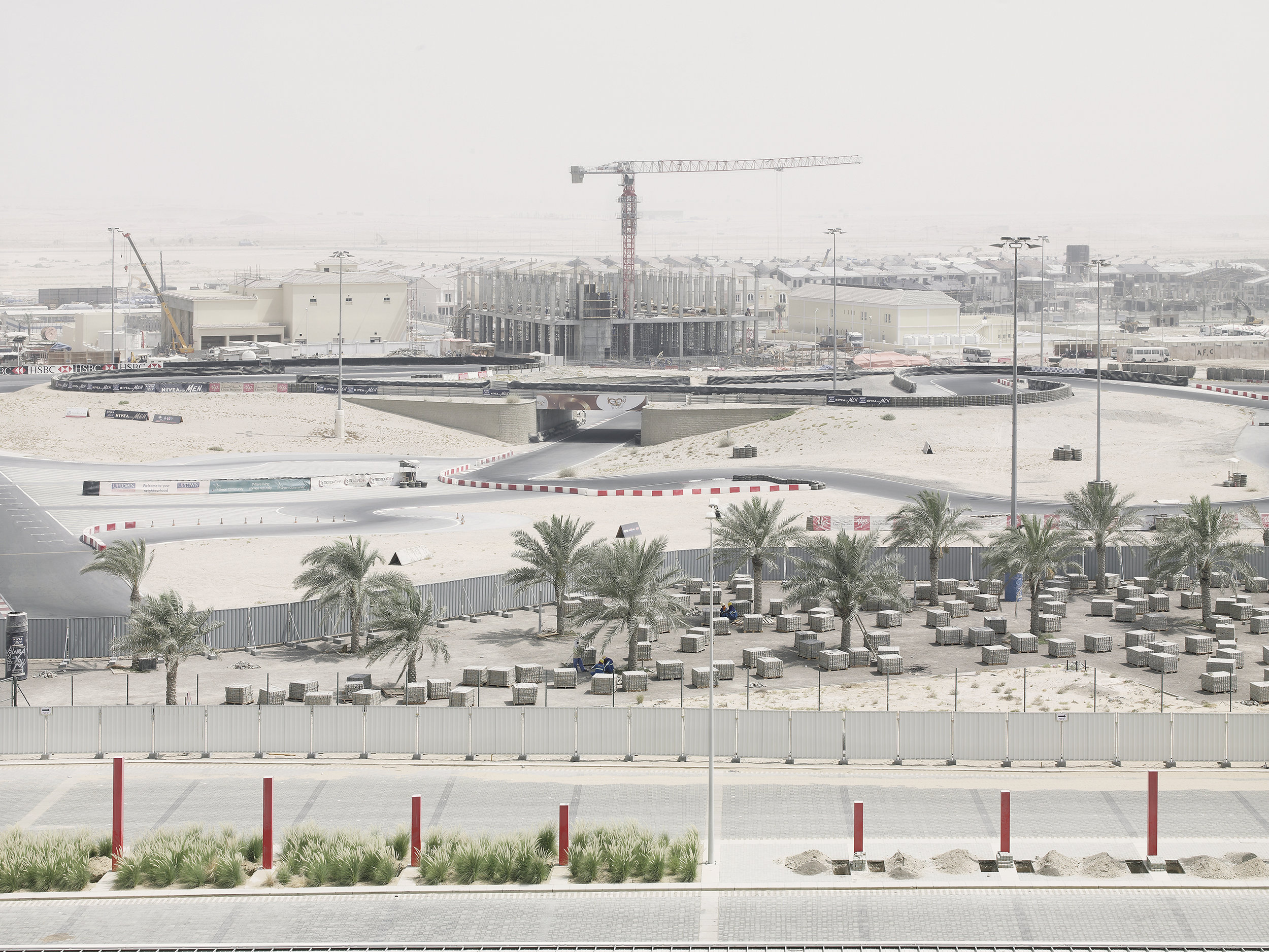 Construction site 4, Dubaï, United Arab Emirates, 2008.