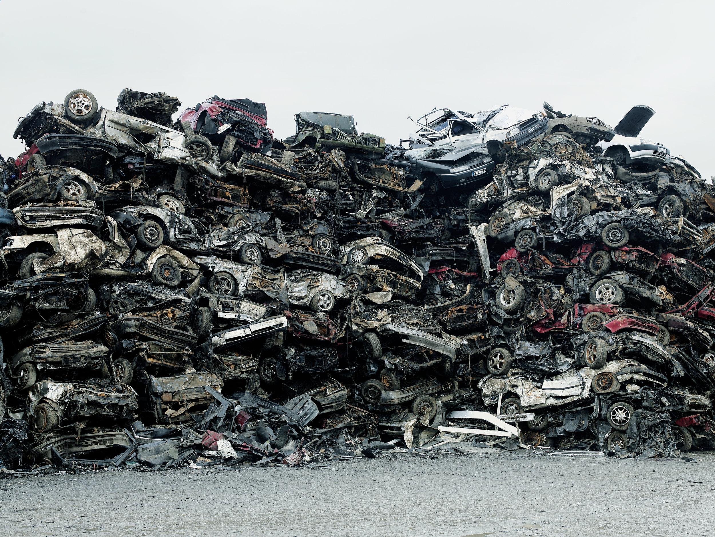 Recycling plant 3, Belgium, 2007.