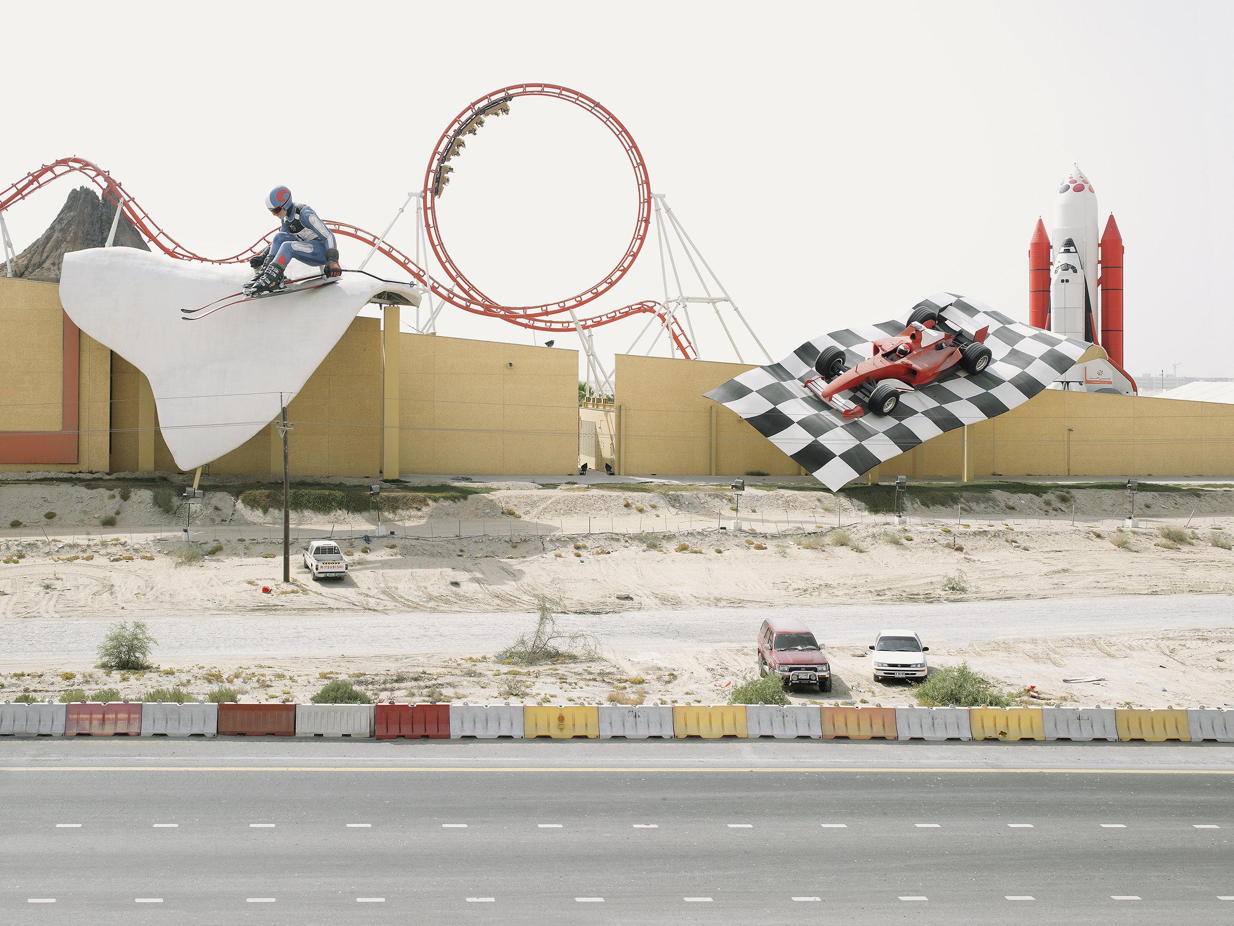 Billboards for Dubailand, United Arab Emirates, 2008.