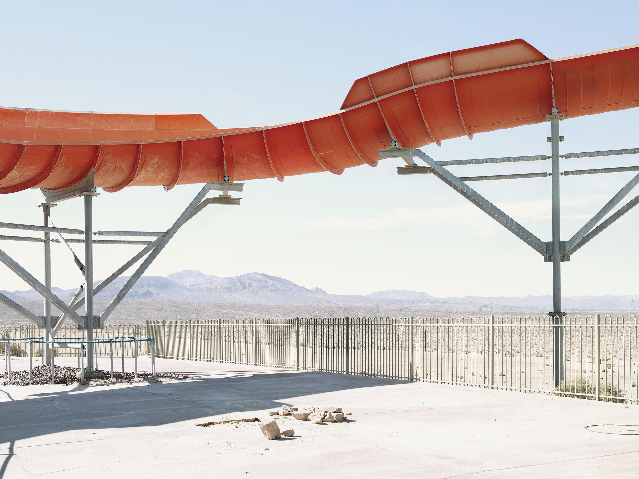 Aquatic amusement parc, USA, 2007.