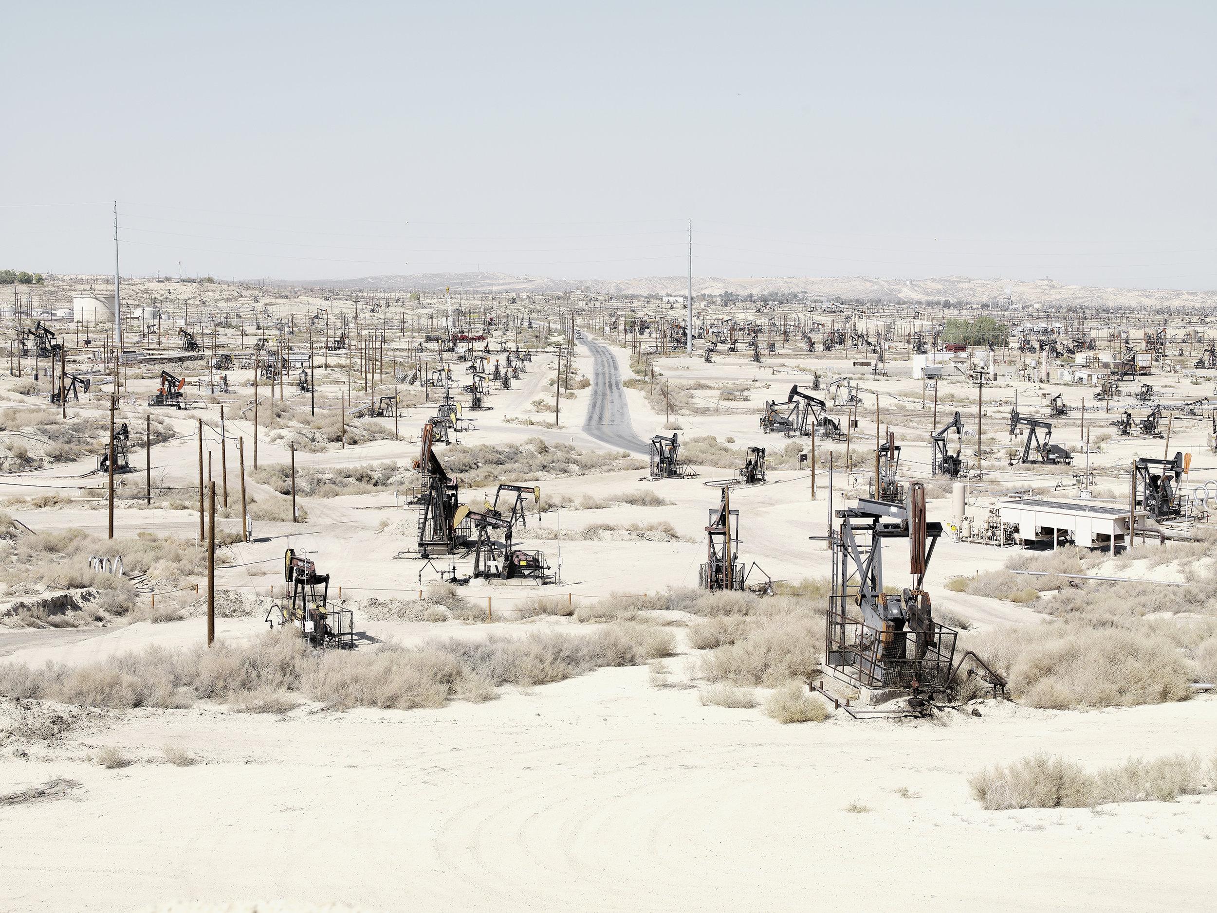 Petroleum field 1, USA, 2007.
