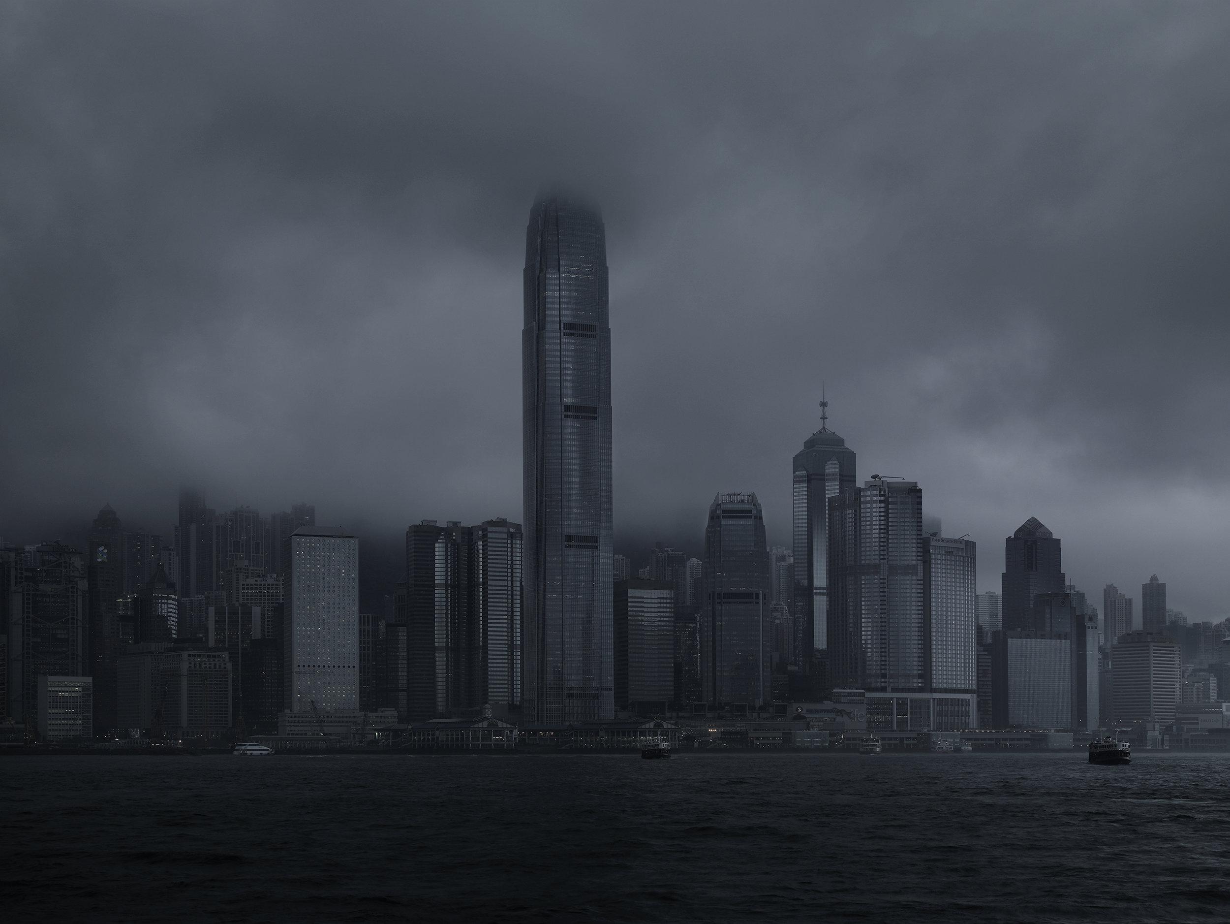 Buisness quarter 4, Hong-Kong, China, 2008.