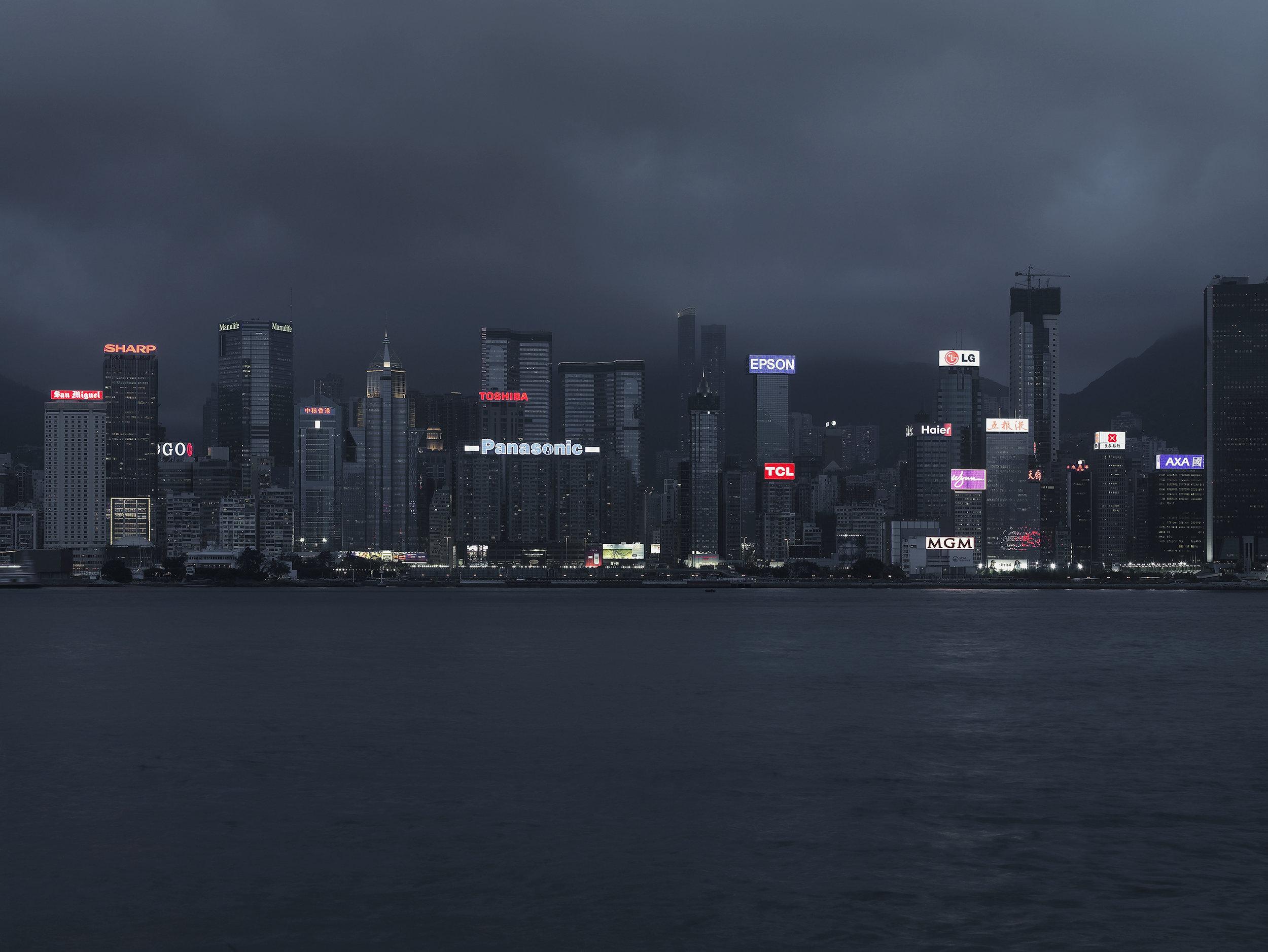 Buisness quarter 5, Hong-Kong, China, 2008.