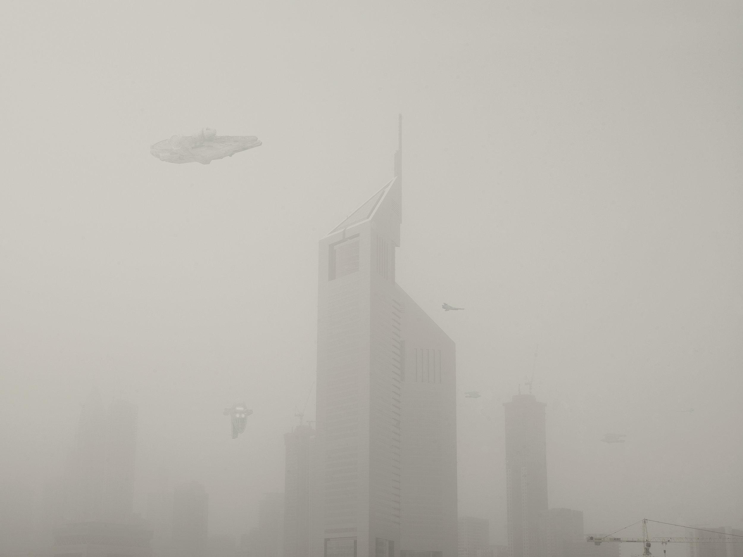Millenium in Fog. 2009