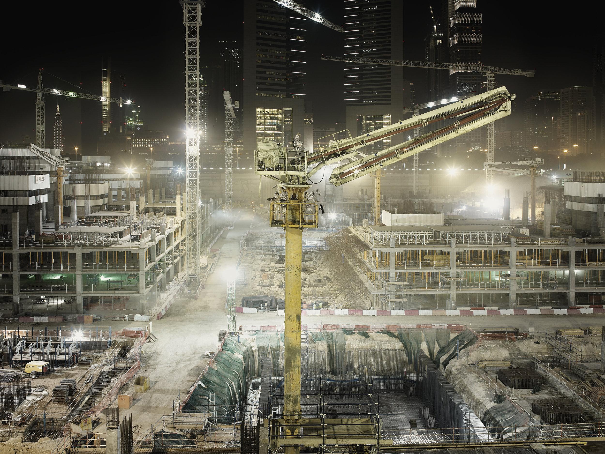 Nightwatch Construction Site. 2009