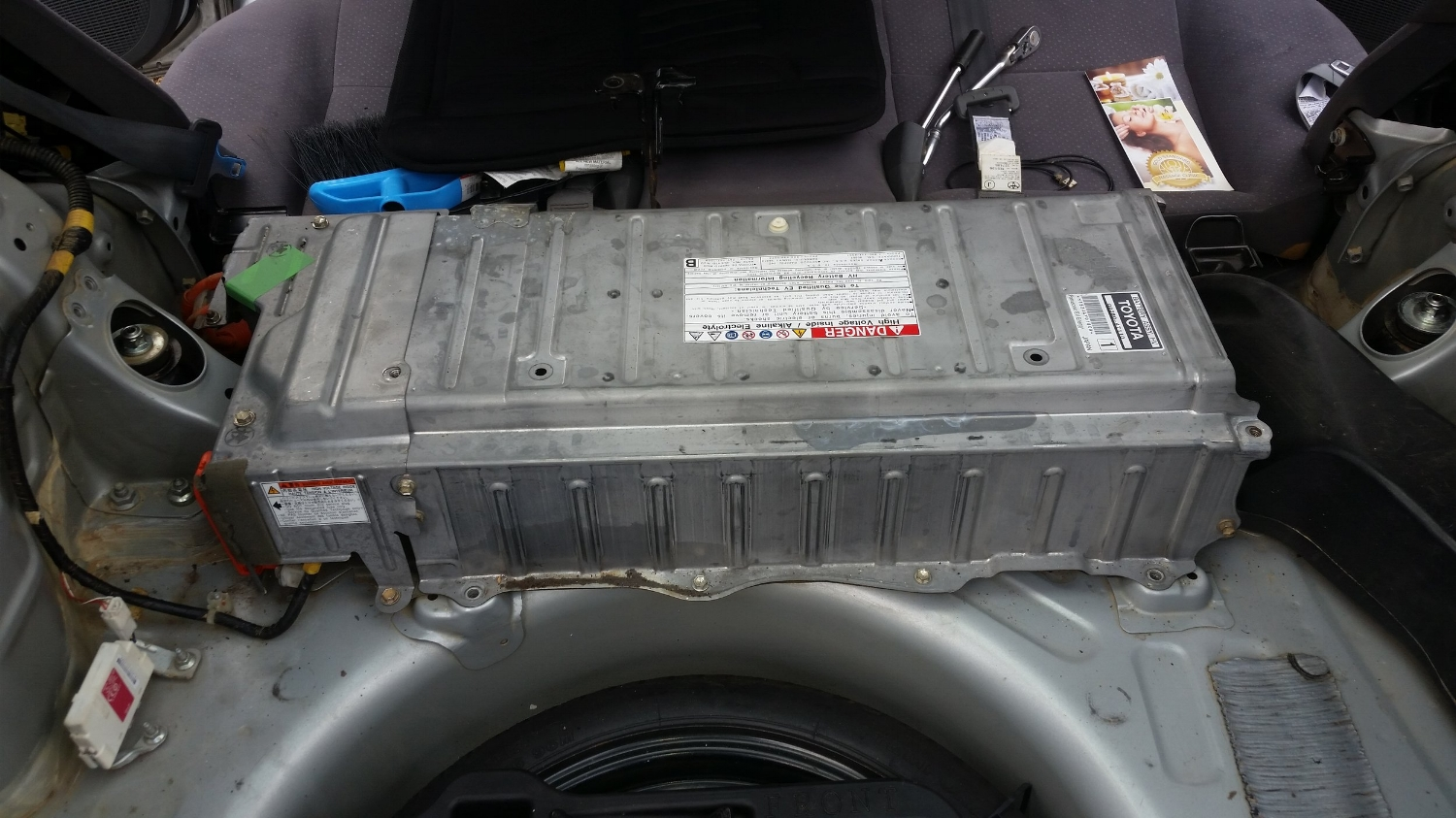 Installing a used battery pack in a 2007 Prius