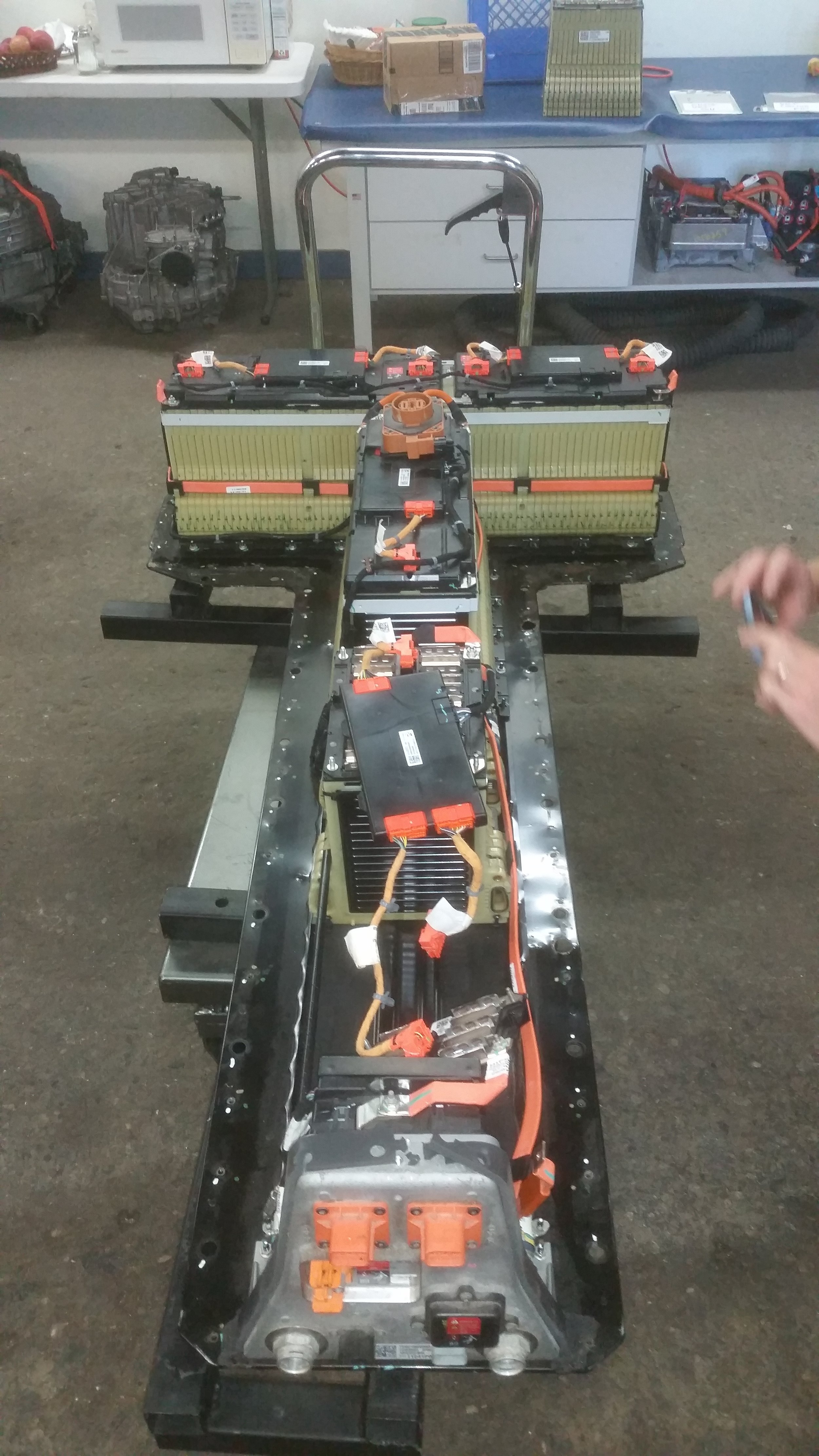 Chevy Volt battery pack