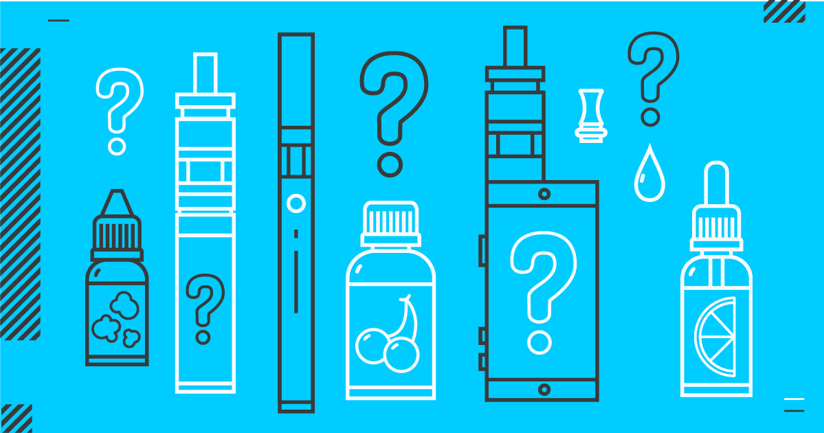 - Fact: There's a lot you don't know about e-cigs. Like what's in them and what are the risks? Good questions. Before you vape, be informed. Get informed here.