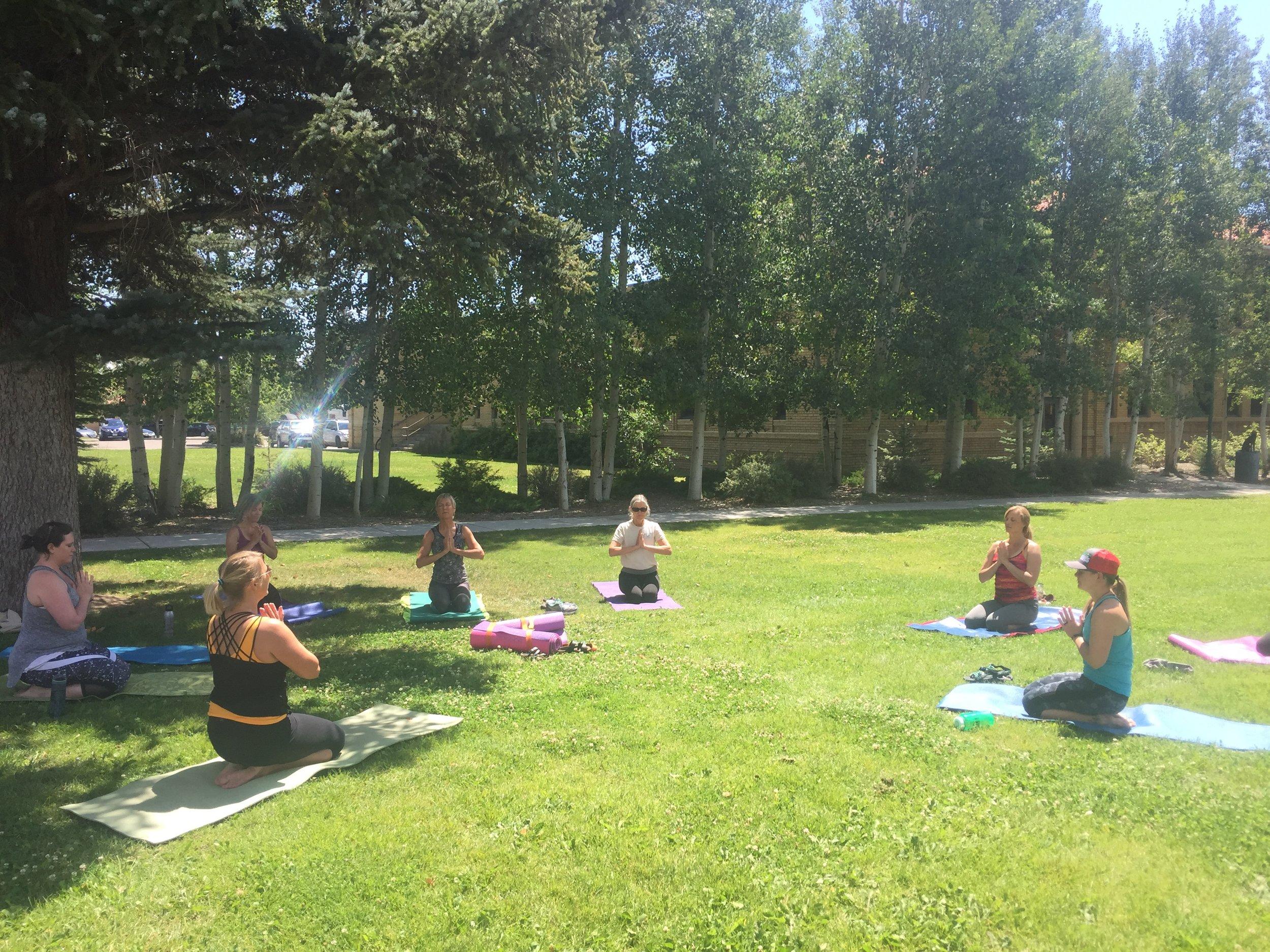 Worksite Wellness Yoga