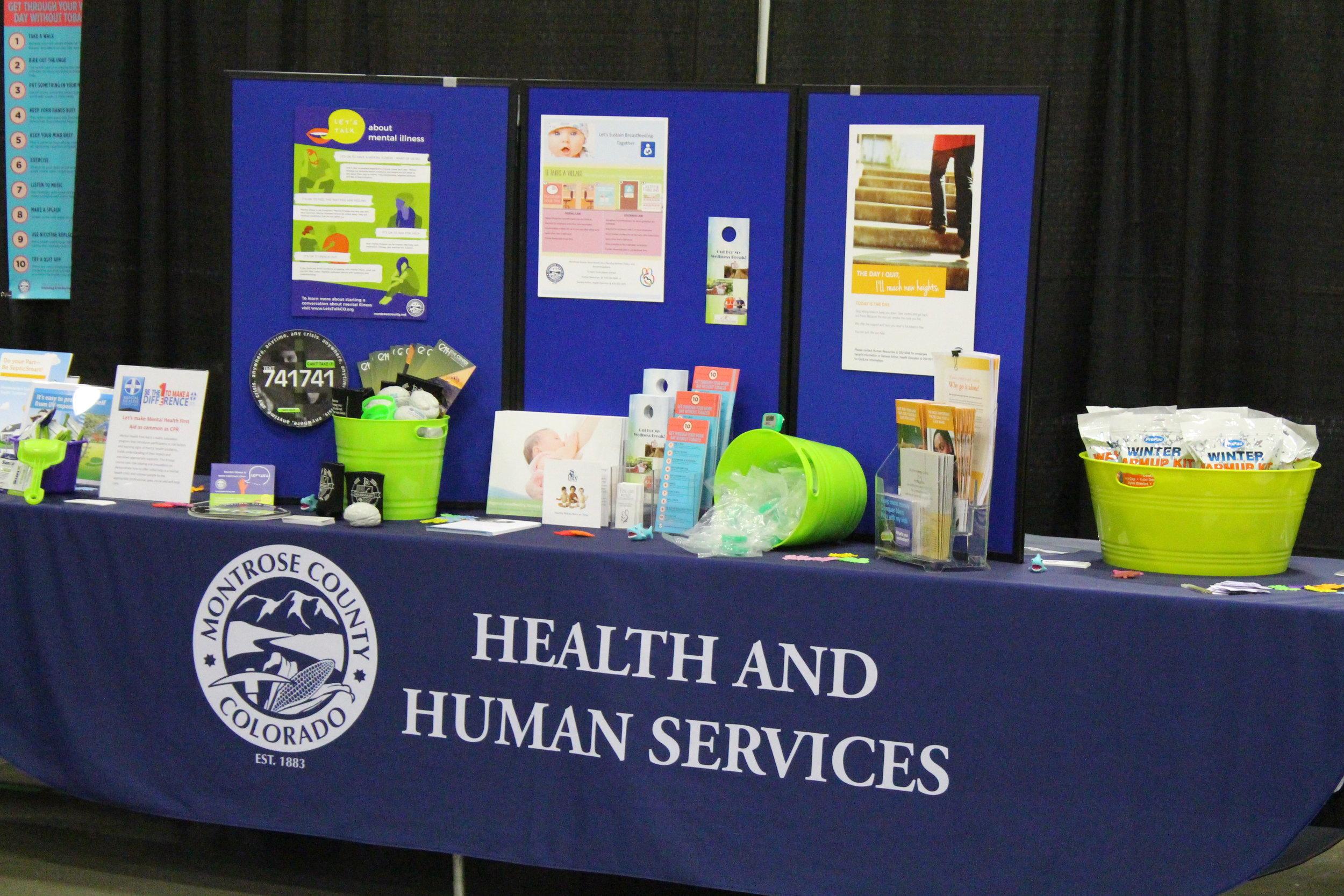 Montrose County Employee Wellness Fair