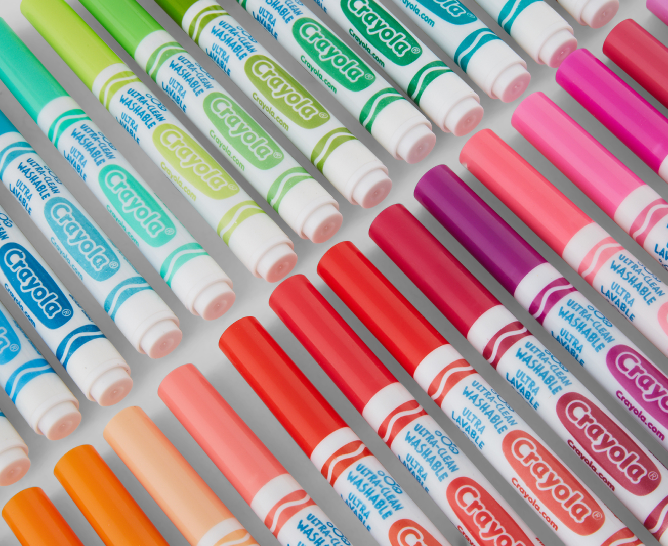 Crayola Ultra-Clean Washable Broad Tip Markers (dickblick.com)