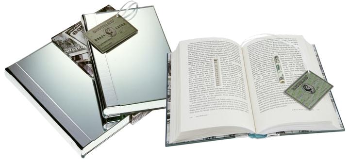 I samarbeid med verdens best betalte kunstner Damien Hirst, ble  Snowblind  etter tjue år gitt ut i en limited edition i 1000 eksemplarer, der selve bokomslaget er et speil, bokmerket et kredittkort, og en ferdig rullet hundredollarseddel er gjemt i et hulrom i papiret. Hundredollarsedlene ble utstedt og nummerert av US Treasury fra 000 til 999, for å vise bokaficionadoen hvilket eksemplar de hadde av kunstverket.