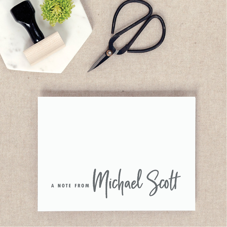 Notecards - Send your notes in style with our personalized notecards!
