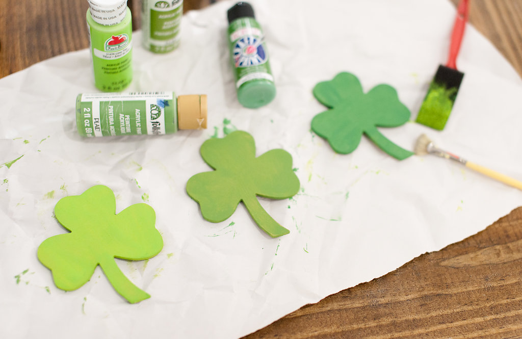 Add variety to your shamrocks and St. Patrick's Day magnets with different shades of green! Photos by MegB Photography
