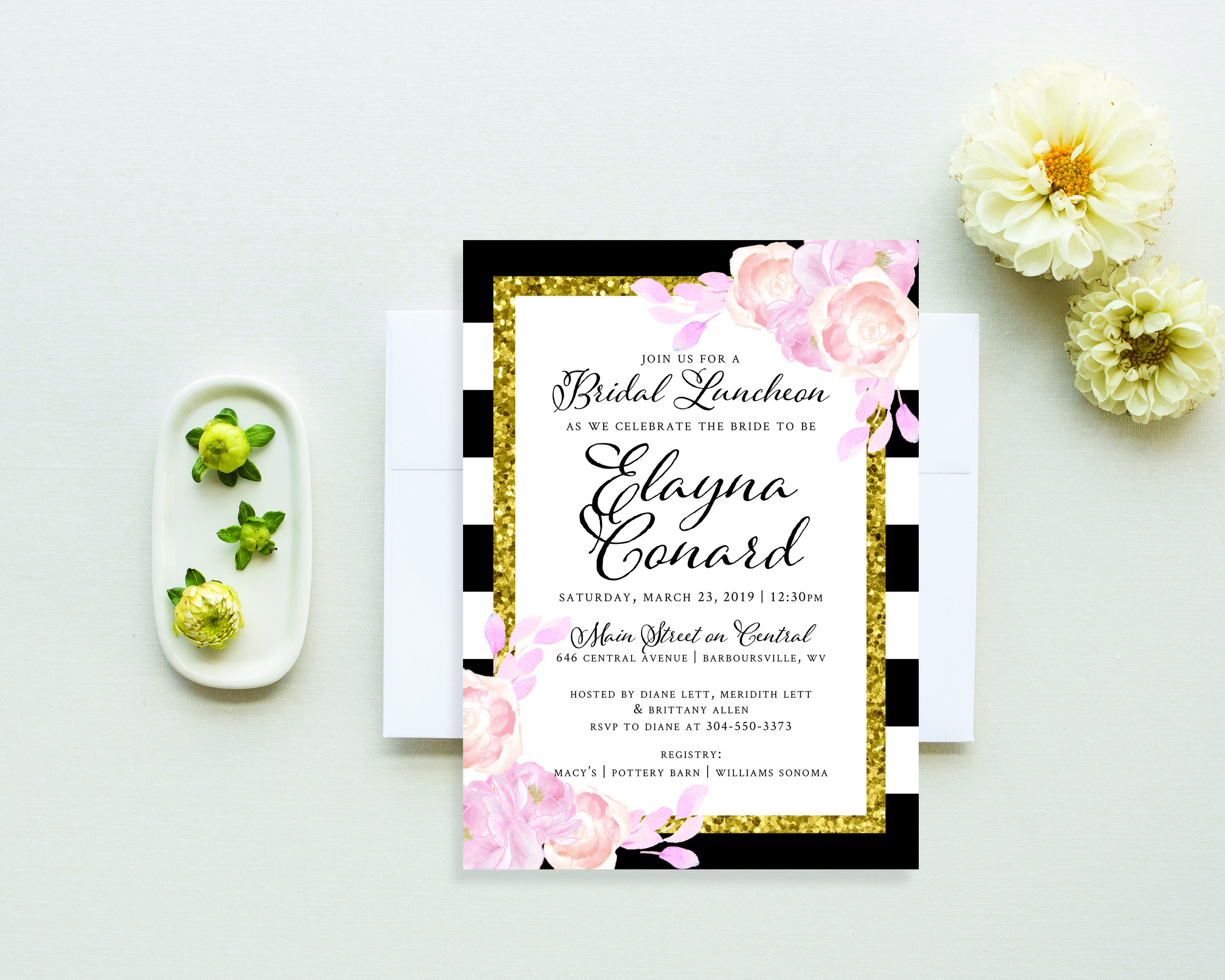 Bridal Shower Invitations - Shop our collection of bridal shower invitations