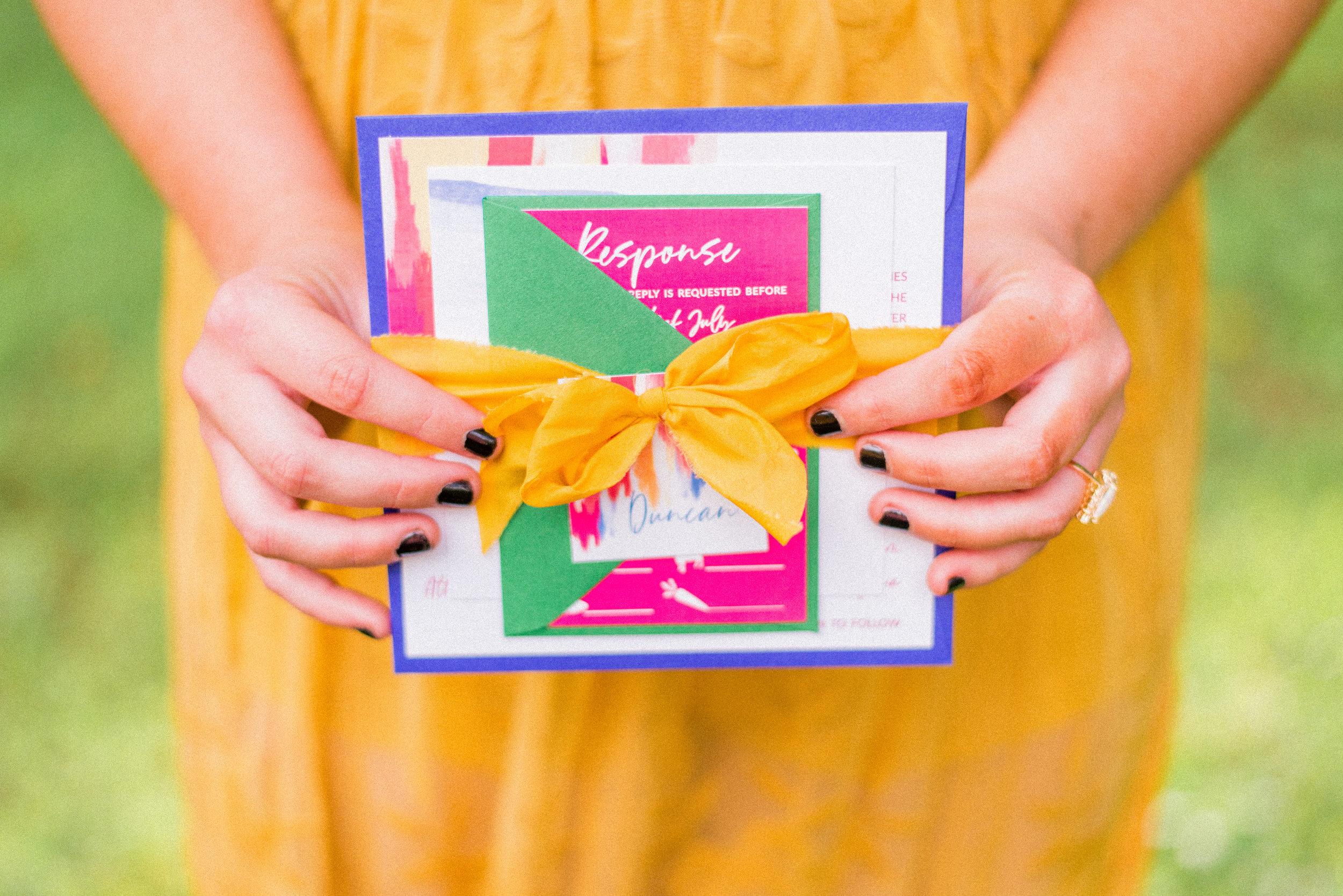 Wedding Invitation Suite Copyright Rock Paper Sisters
