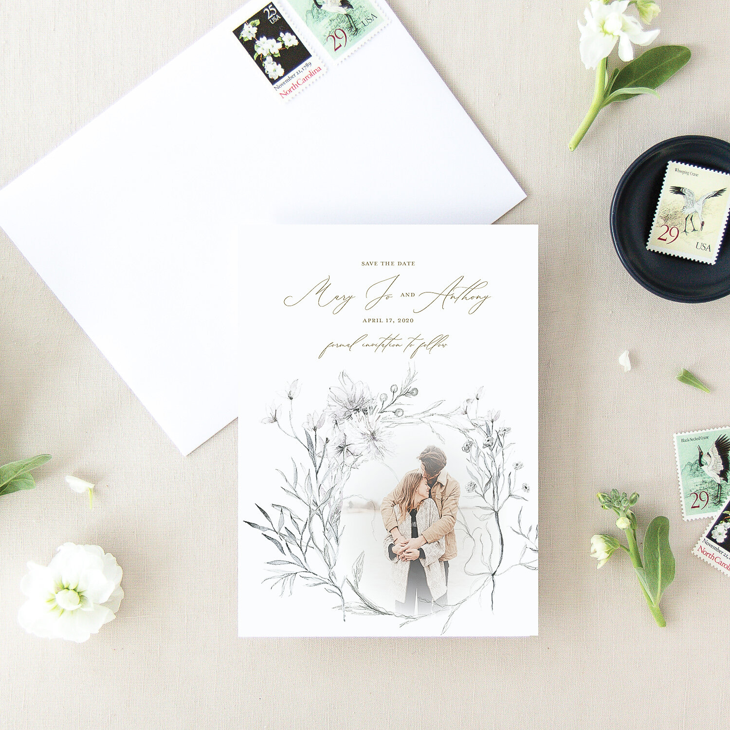 Whimsical Save the Date | The Mary Jo
