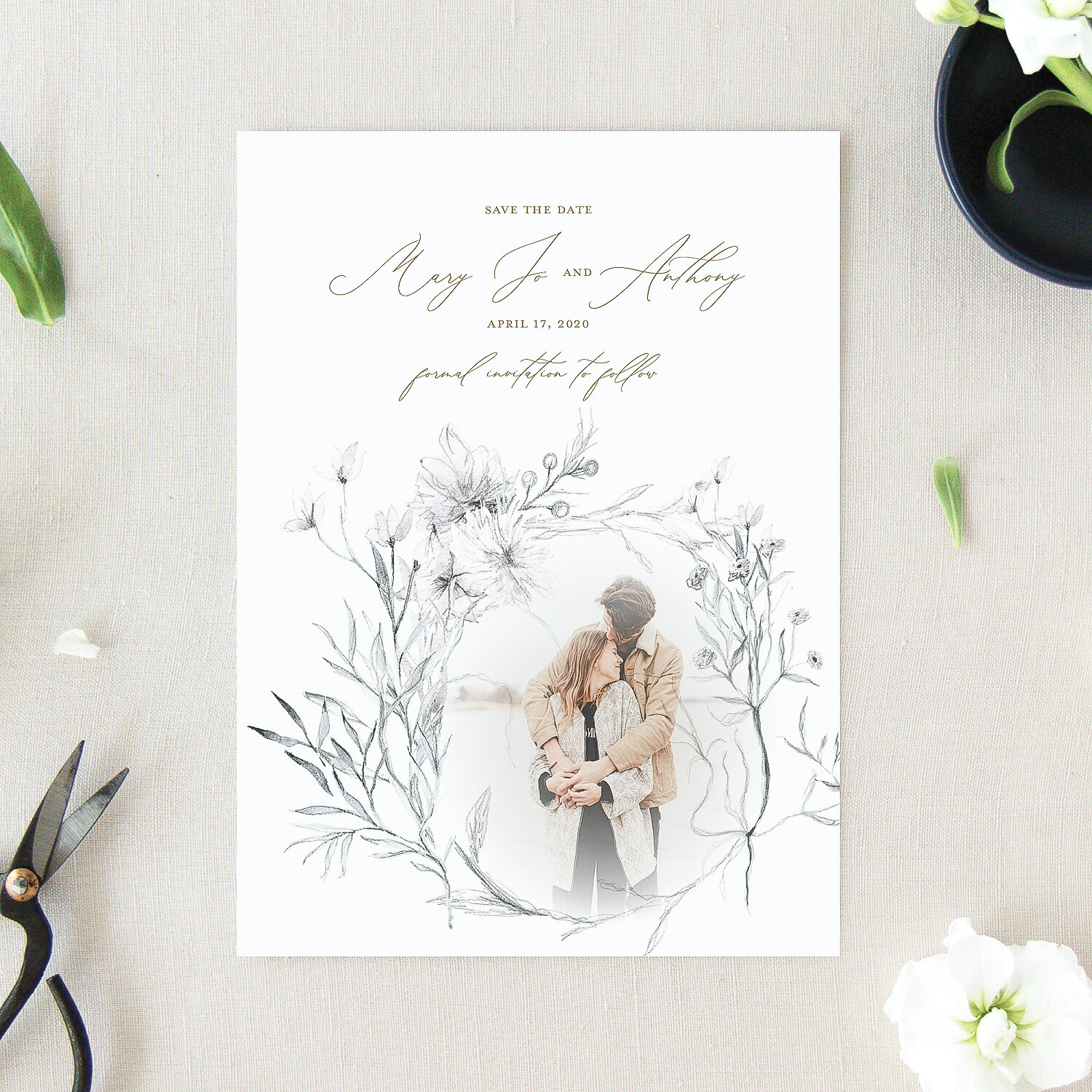 Whimsical Save the Dates | The Mary Jo