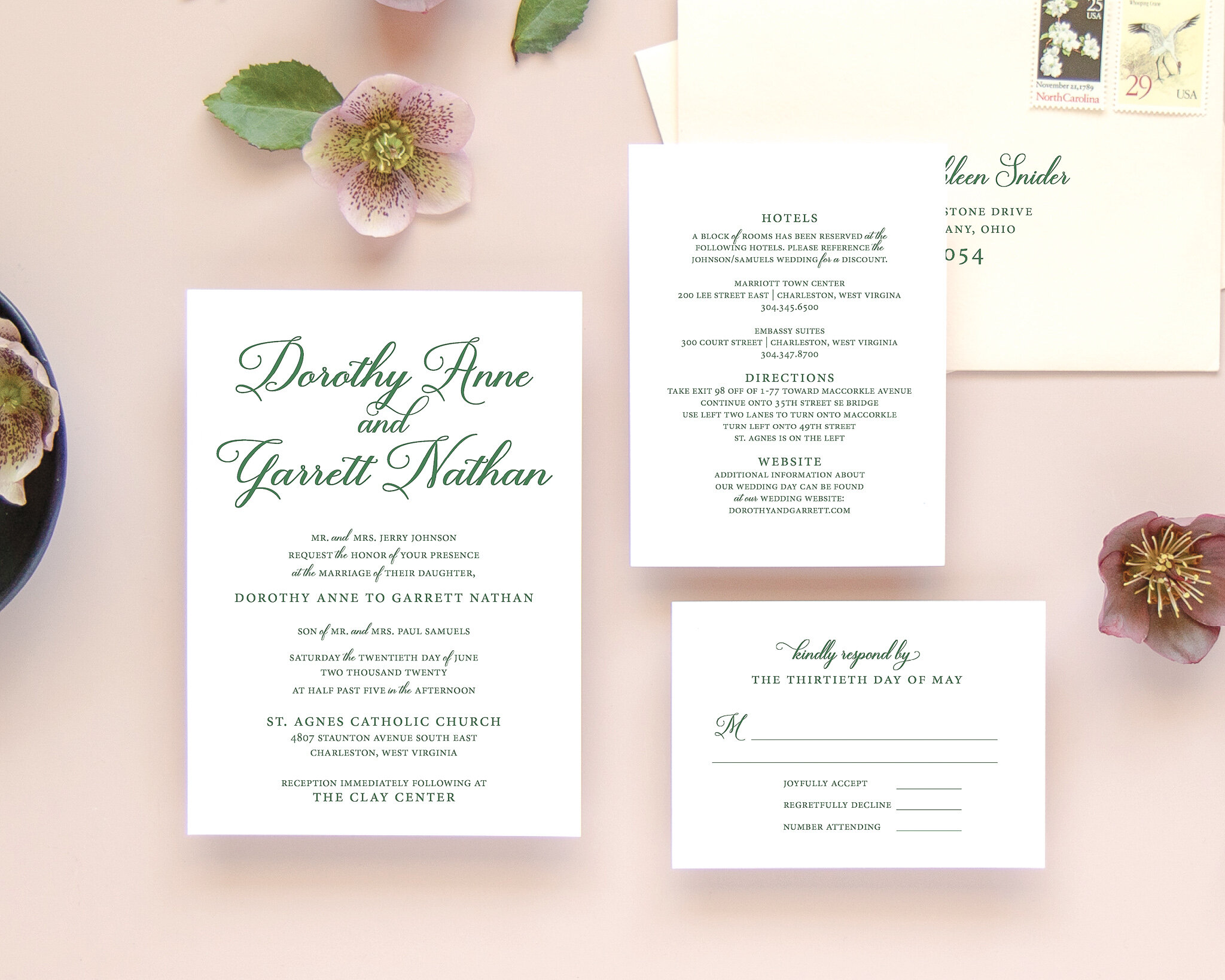 Timeless Wedding Invitations | The Dorothy