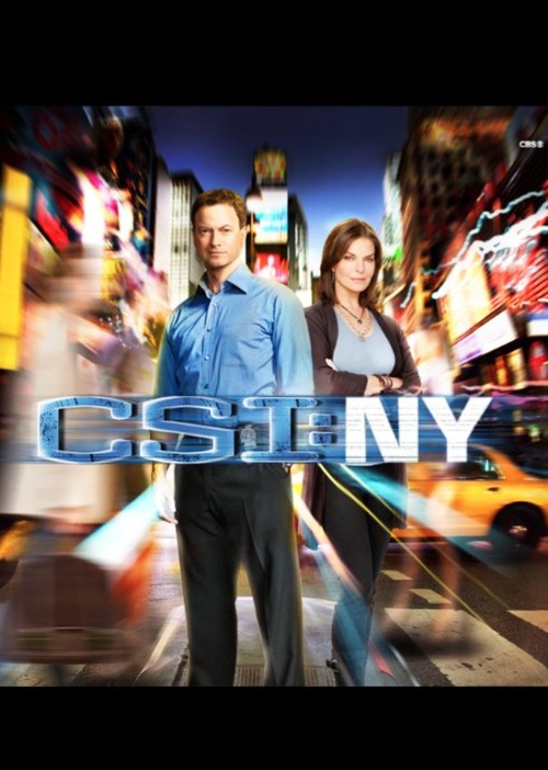 I was asked by Jerry Bruckheimer and Les Moonves to reinvent the look of CSI:NY after it's first season -- this is the set I designed, which was kept for 8 seasons until the show's close. -