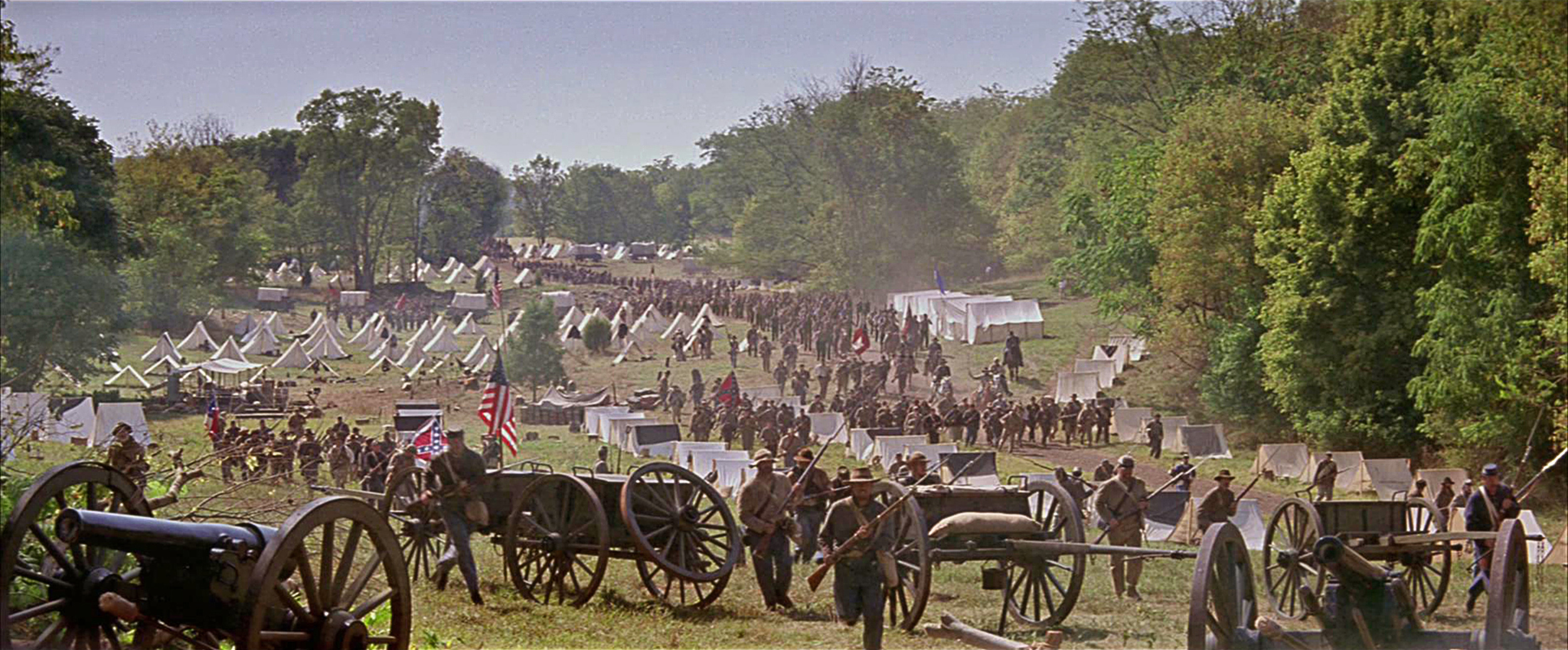 There was nothing small in this movie -- this is the beginning of the end of the Union Army at Chancellorsville.