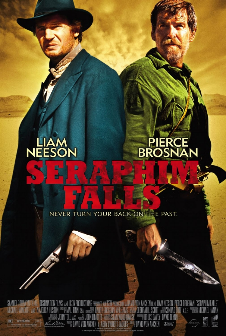 SERAPHIM FALLS is a Western set just a few years after the end of the Civil War. -