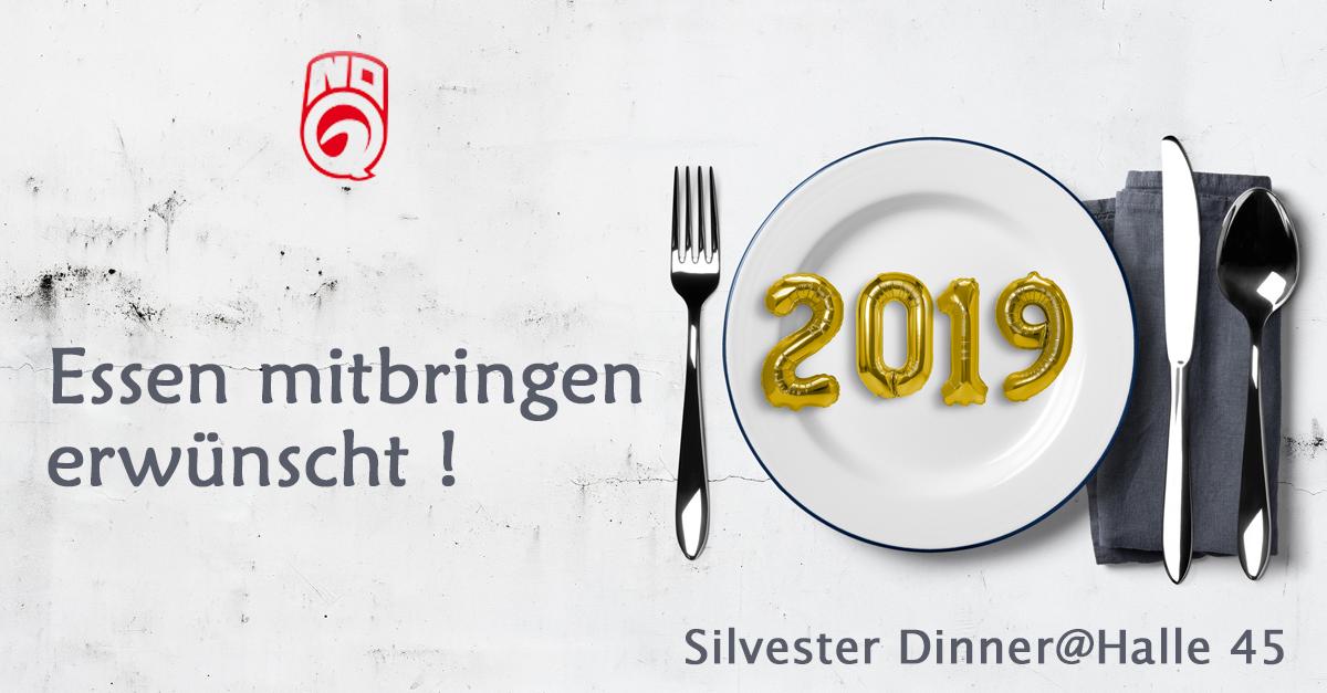 Dein Tisch für Silvester -  with  your Friends….