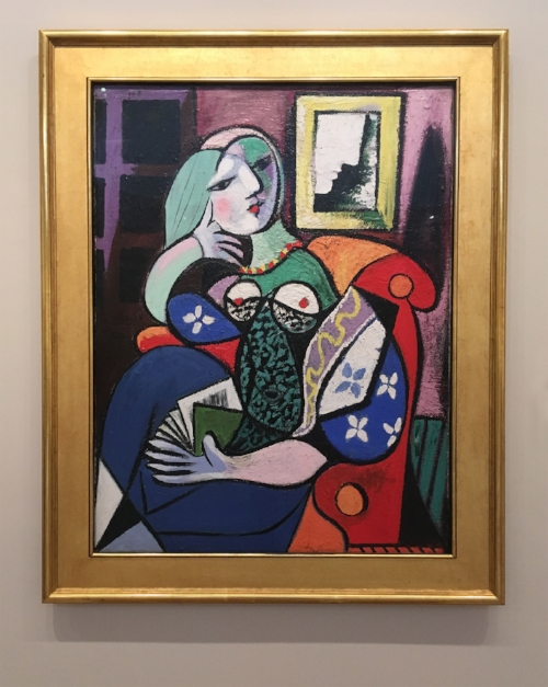 Pablo Picasso,Woman with a Book, 1932