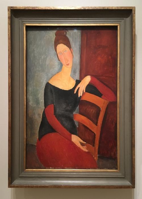 Amedeo Modigliani, Portrait of the Artist's Wife,1918