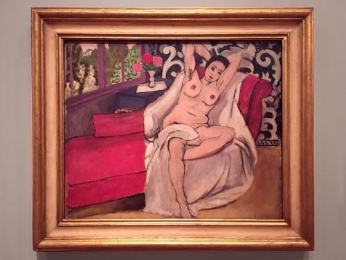 Henri Matisse, Nude on a Sofa, 1923